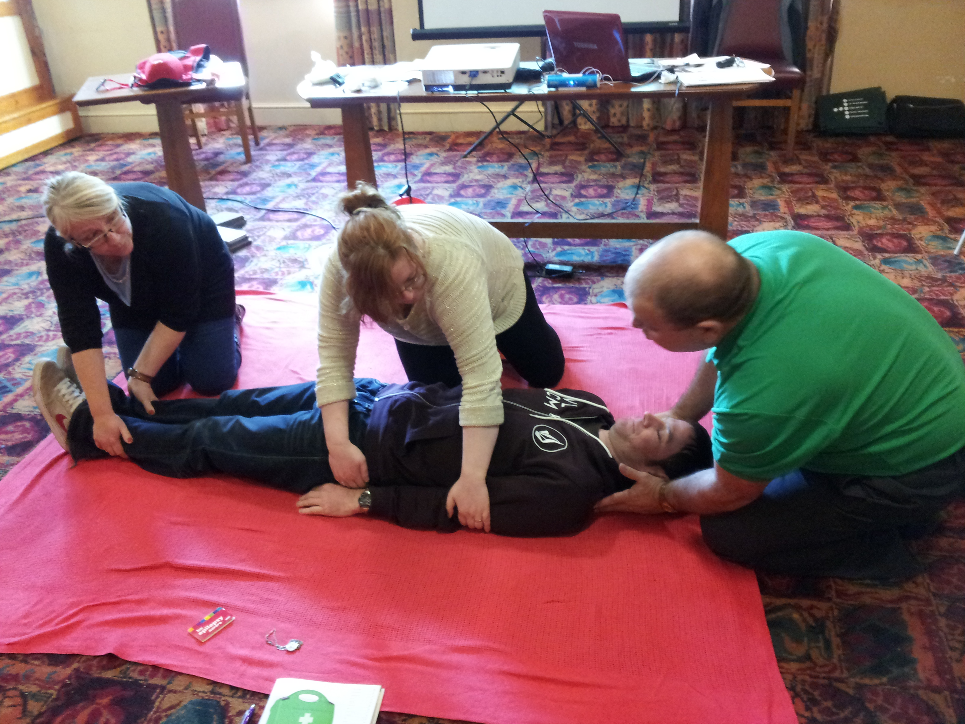 first aid training stockport manchester